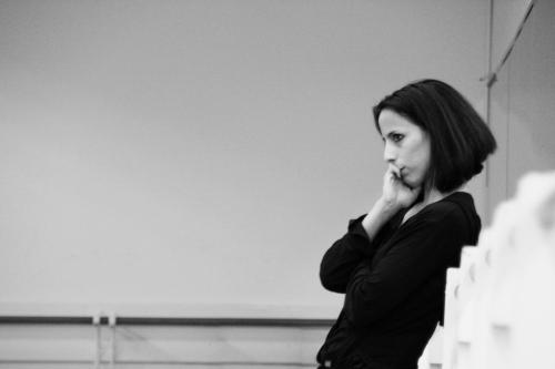 Annabelle Lopez Ochoa in the studio.  Photo by Altin Kaftira.