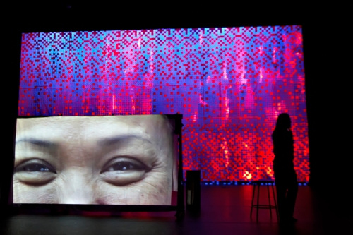 Scene from Saudade.  Video by Ashley Hunt.