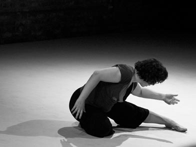 Molly Shanahan in My Name is a Blackbird.  Photo by Sandbox Studio, courtesy Molly Shanahan/Mad Shak.