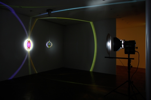 Olafur Eliasson, Colour space embracer, 2005. San Francisco Museum of Modern Art, purchase through a gift of Chara Schreyer and the Accessions Committee Fund; photo: Jens Ziehe; © 2009 Olafur Eliasson.