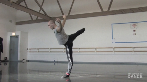 Benjamin Wardell of Hubbard Street Dance Chicago on 30 Seconds of Dance.