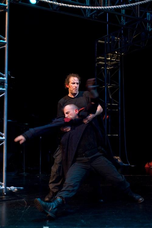 Adrian Danzig and Paul Kalina. Photo by Michael Brosilow