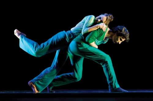 Shannon Alvis and Alejandro Cerrudo in Slipstream. Photo by Todd Rosenberg.