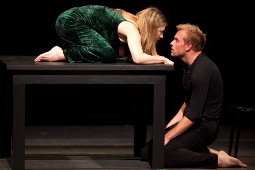 Cherice Barton and James Gregg in Ah! Crudel. Photo by Todd Rosenberg.