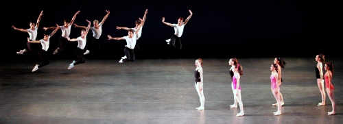 Miami City Ballet in Symphony in Three Movements.