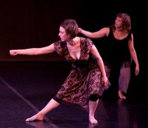 Jessica Marasa and Kristina Fluty. Photo by William Frederking.