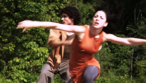 Michel Rodriguez, left, and Jessie Gutierrez of Hedwig Dances.
