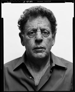 Philip Glass. Photo by Steve Pyke.