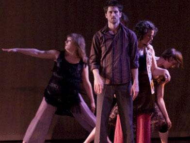 Kristina Fluty, Benjamin Law, Molly Shanahan and Jessica Marasa. Photo by William Frederking.