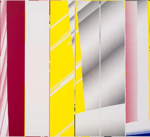 Roy Lichtenstein, Mirror in Six Panels, 1971