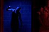 ISO (2013) by Zachary Whittenburg, with Diana Raiselis, right. Photo by Kiam Marcelo Junio.